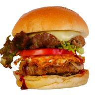ハンバーガーショップ カオス - がっつり食べたい方におすすめ『アメリカンバーガー』
