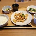 岡山淳風会タニタ食堂 - 家常豆腐