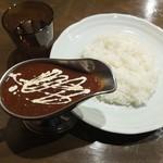 100時間カレーB&R - 100時間ハヤシ790円込(2017)