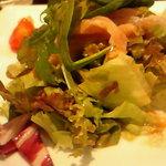 夢厨房 姫路リバーシティ店 - セレブランチのサラダ