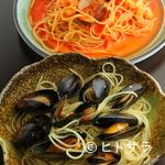 オリーヴ - ムール貝の贅沢パスタ