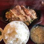 レストラン喫茶 タクト - ジュージュー焼定食
