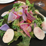ワイン食堂 ル・プティ・マルシェ - ヘルシーチキンハムサラダ