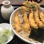 65367195 - 天ちらし蕎麦(冷)
