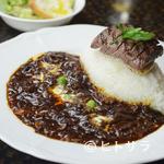 ビストロ・ぽわぶる - 深い味わい『おやま和牛ステーキ&168時間熟成ハヤシライス』