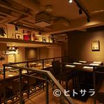 "AU GAMIN DE TOKIO - ""魅せる料理""調理する工程、音も楽しんでいただける空間"
