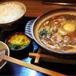 雑兵 - 味噌煮込みうどん定食  780円