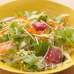 神楽坂すしアカデミー - 季節の刺身を贅沢に使った『海鮮サラダ』