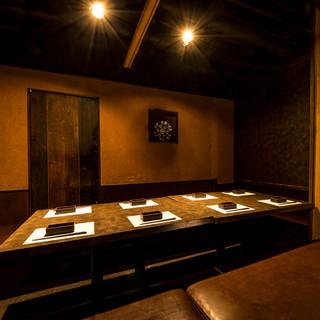 秋葉原駅1分!落ち着きのある和個室空間♪団体様用個室も完備!