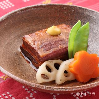 3日かけてつくる伝統的な琉球料理『らふてー』