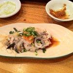 小石川 かとう - ふぐ皮ポン酢