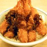 かつや - 料理写真:海老フライ丼414円