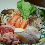 マカオ料理&アジアン居酒屋 ラザロ - スチームボート(マレーシアのチキンスープの寄せ鍋風)です!