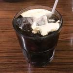 コンパル - アイスコーヒー(注ぎ後)