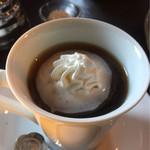 花論珈琲茶房 - ウインナーコーヒーに変身!
