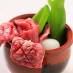 焼肉 笑 - 料理写真:【逸品】壺漬カルビ