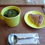 ブーランジェリー ヤマシタ - スープとパン