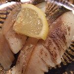 回転寿司 海鮮料理 魚魚市場 - 炙り トロ鯖 280円