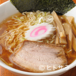 上田らあめん はち - あっさりとしたスープで食べやすい『支那そば』