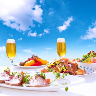 ◆青空の下、ビールで乾杯!!5月開催☆BEERGARDEN◆