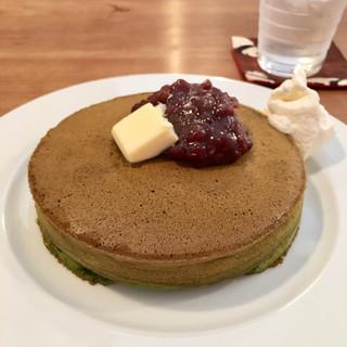 ほそつじいへえ TEA HOUSE - 抹茶パンケーキ!!