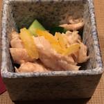 桜島 - 宮崎名物ささみの梅肉和え