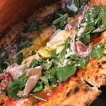 PELICAN BIO - 有機卵、有機野菜と生ハムのビスマルクピッツァ