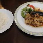 味楽亭 - 生姜焼きランチ