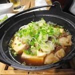 炭火炙り焼と地酒 いぶしぎん - 肉豆腐