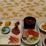 温根湯ホテル四季 平安の館 - 料理写真:品数少ない?