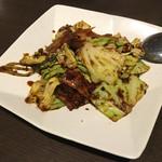 65391626 - 豚肉とキャベツの甘味噌炒め(1400円)