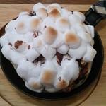 65393863 - 焼きマシュマロとチョコレートのパンケーキ