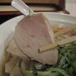 大阪麺哲 - 肉醤油雲呑のチャーシューその2