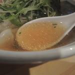大阪麺哲 - 肉醤油雲呑