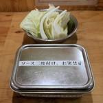 串カツ田中 元住吉店 - 2度漬け禁止ソースとキャベツ 気ままに外食三昧 http://morigen1.hatenablog.com/ より