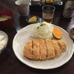 創食浪漫館 トントン - 料理写真:厚切りフィレかつ定食