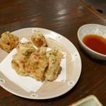 味勢 - 納豆天ぷら