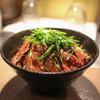 ステーキハウス ロマン亭~オンス~ - 料理写真:炙りハラミライス☆