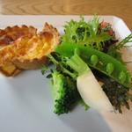 紬山荘 - 蕎麦コース 前菜