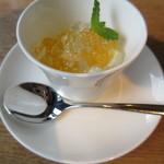紬山荘 - 蕎麦コース デザート