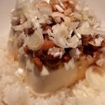 南国酒場リバーサイド - 納豆とお豆腐のどんぶり飯