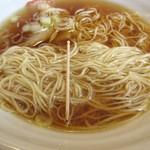 65397920 - 細麺細さ、自家製麺