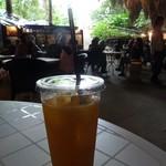 ガンガラーの谷 ケイブカフェ - オレンジジュース