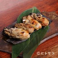魚秀 - 昆布の風味が牡蠣の味を引き立てる『牡蠣昆布正油焼』
