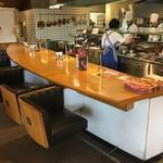 神戸屋レストラン - カウンター席