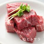 炭火焼肉 安部え - 厚切りでお肉の旨味が堪能できる『特撰 和牛 上ハラミ』