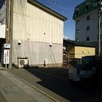 大湊吉田ベーカリー  - 道路反対に駐車場あり