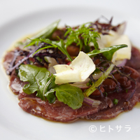 ICARO miyamoto - 旨みを凝縮した『長野産ジャージー牛のモモ肉マリネ南チロル風』