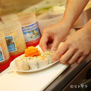 調味料やスパイスはタイから仕入れたものを使用しています