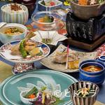 花万葉 - 日本の四季を楽しむ旬の会席料理を堪能できます